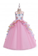 [Free US Economy Shipping] Halloween Cosplay Unicorn Princess Instagram Kid Performance Dress