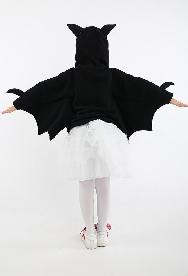 Kinder Mädchen Phantasie Fledermaus Halloween Kostüm Oberbekleidung Mantel