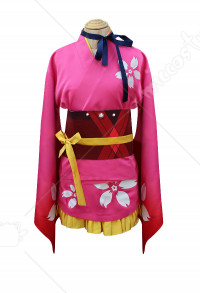 Kabaneri of the Iron Fortress Mumei Hozumi Cosplay Suit Cosplay Kimono