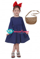 Kikis Service de livraison Enfants Halloween Cosplay Costume Witch Dress