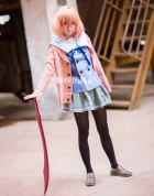 Beyond the Boundary Kuriyama Mirai Cosplay Uniform