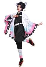 Demon Slayer Kimetsu no Yaiba Insect Pillar Kochou Shinobu Kimono Butterfly Cosplay Costume