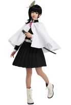Demon Slayer Kimetsu no Yaiba Costume de Cosplay Tsuyuri Kanao Uniforme d'équipe