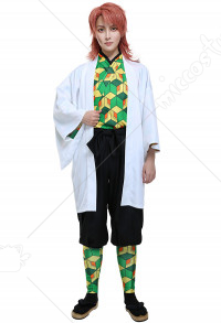 Demon Slayer Kimetsu no Yaiba Demon Slayer Team Kamado Tanjirou Supervisor Sabito Cosplay Costume