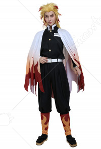 Demon Slayer 鬼滅之刃煉獄杏壽郎 炎柱Cosplay Costume