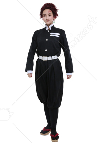 Demon Slayer鬼滅之刃制服Black Uniform Cosplay Costume
