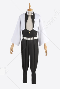 Demon Slayer Kimetsu no Yaiba Costume de Cosplay Sanemi Shinazugawa Uniforme d'Équipe