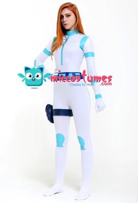 Kim Possible Battle Suit Supersuit Bodysuit Cosplay Costume