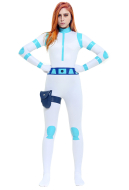 Kim Possible Battle Suit Supersuit Bodysuit Cosplay Costume