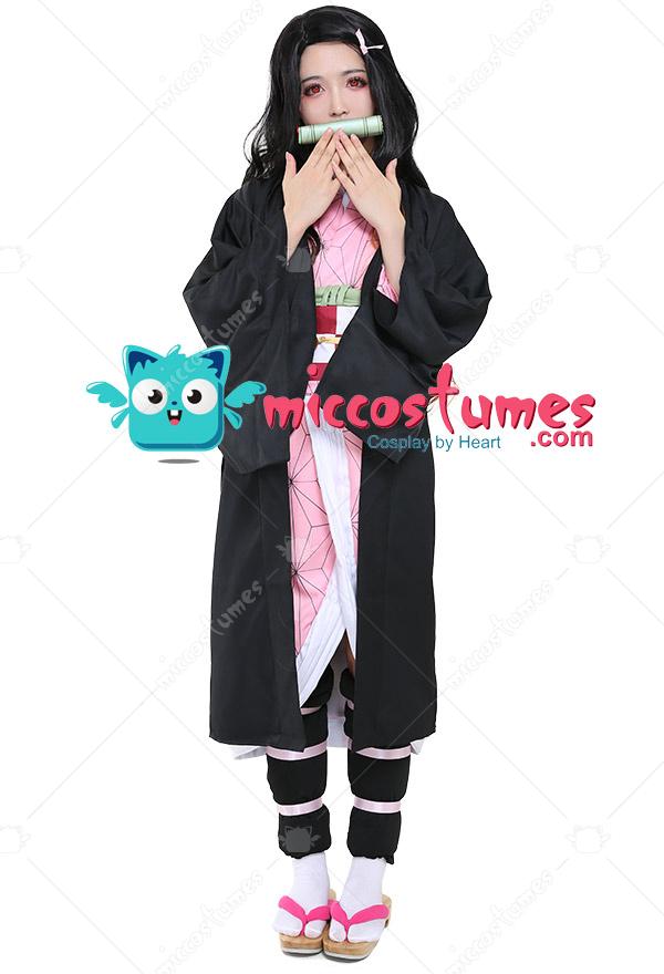 Nezuko Kamado Costume - Kimetsu no Yaiba Cosplay   Top ...