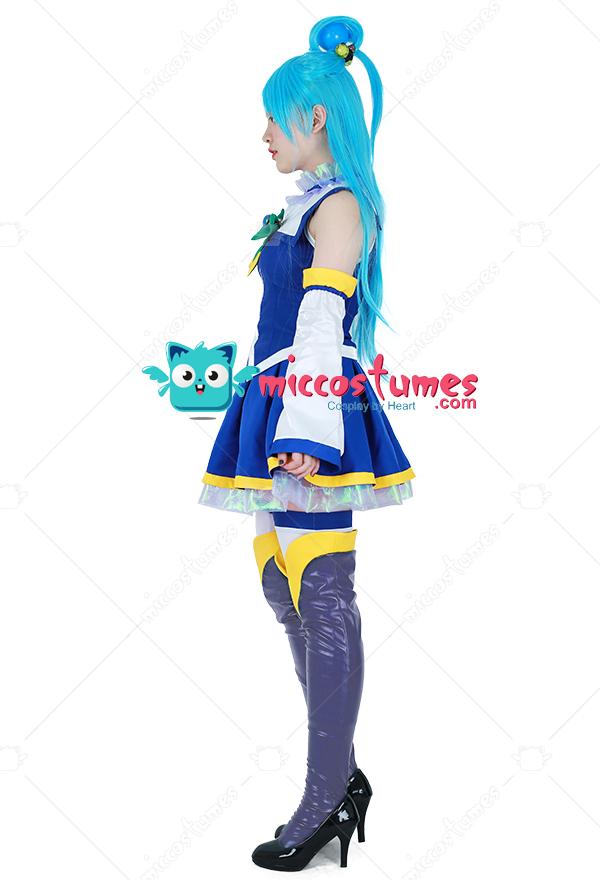 [Free US Economy Shipping] Konosuba God's Blessing On This Wonderful World  Aqua Cosplay Costume