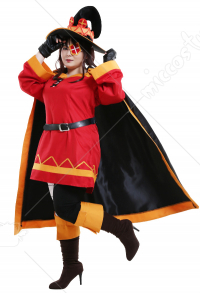 Übergröße Konosuba Gods Blessing On This Wonderful World Megumin Cosplay Kostüm