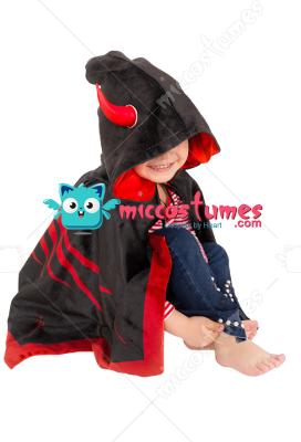 Child Little Devil Wings Halloween Cloak for Kids