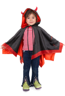 Child Little Devil Wings Halloween Cloak for Kids