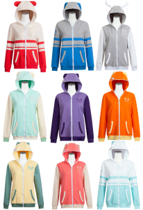 Love Live! School Idol Project - Trip to the Zoo All Member Hoodie Coat Cosplay Costume