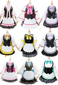 Jueseman LoveLive! Sunshine!! Aqours Maid Cosplay Costume for All Members