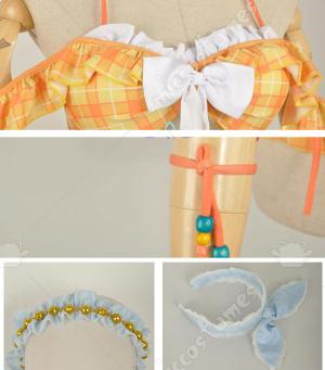 Love Live Sunshine Hanamaru Kunikida Swimsuit Bikini Cosplay Costume