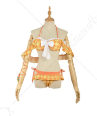 Love Live Sunshine Hanamaru Kunikida Swimsuit Bikini Cosplay Costume