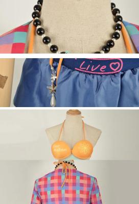 Love Live Sunshine Chika Takami Swimsuit Bikini Cosplay Costume