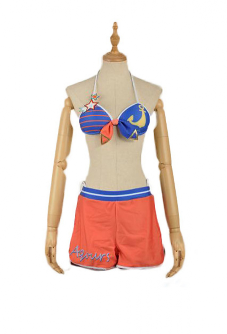 Love Live Sunshine Bikini de Cosplay You Watanabe Maillot de Bain
