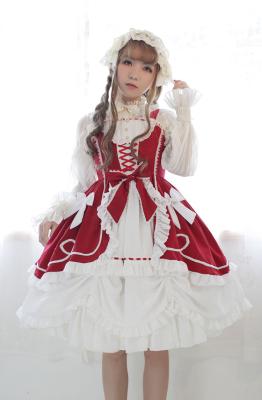 Antique Figure Lolita One Piece Dress