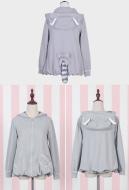 Lolita Coat Japanese Academic Style Daily Lolita Girlish Heart Soft Girl Coat Lolita Shirt Lolita Student Coat for Autumn and Winter
