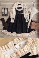 Classical Lolita Japanese Style OP Ruffle Sweet Maiden Lolita Dress