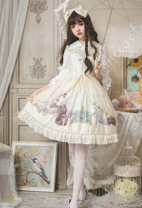 Lolita Dress Sweet Cute Lolita Maiden Daily Court Retro Princess Lolita Dress