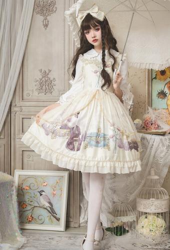 3fcf20ee22d7f Sweet Lolita Dress - Lolita Maiden Daily Court Retro Princess Lolita Dress  | Lolita Dress for Sale