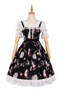 Cute Lolita Dress Choir Vintage Dress Elegant Lolita Dress Jumper Skirt