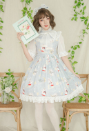 Cute Lolita Dress Idyllic Dress Sweet Girl Lolita Dress One Piece Dress