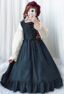 Vintage Royal Court Dress Lolita Dress Mori Girl Ruffled Dress