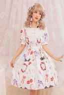 Little Devil Lolita Dress Cute Girl Daily Dress Sweet One Piece Dress