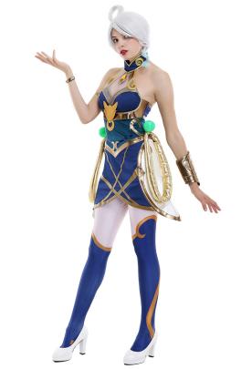 League of Legends LOL Lunar Empress Lux Cosplay Costume Dress Set