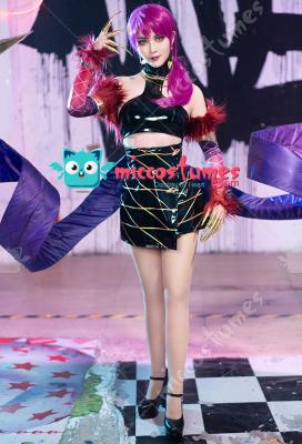 League of Legends KDA Pop Star Girls Evelynn Cosplay Costume