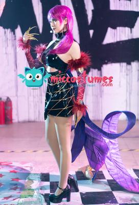 League of Legends Pop Star Girls Evelynn Cosplay Costume