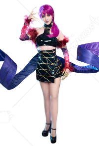 League of Legends Pop Star Girls Evelynn Cosplay Costume