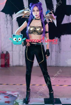 League of Legends KDA Pop Star Girls Kai'Sa Cosplay Costume