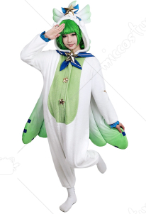 League of Legends Pajama Guardian Lulu Cosplay Costume