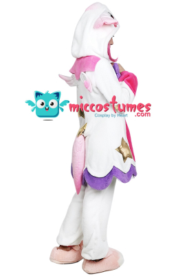 League of Legends Pajama Guardian Lux Cosplay Costume