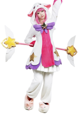 League of Legends pijama Guardian Lux Cosplay