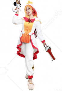 League of Legends Pajama Guardian Miss Fortune Cosplay Costume
