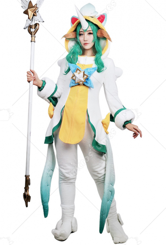 League of Legends Pajama Guardian Soraka Cosplay Costume
