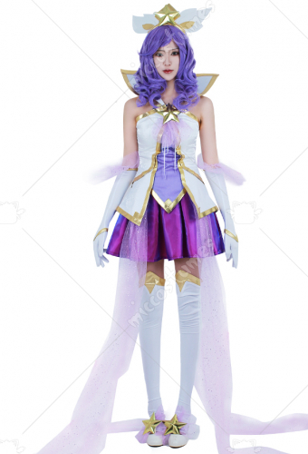 League Of Legends Star Guardian Janna Cosplay Cosutme