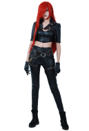 [Free Shipping]League of Legends Katarina Du Couteau Cosplay Costume