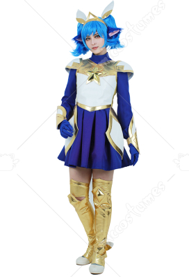 League of Legends Poppy Cosplay Costume