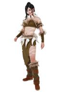 League of Legends Klassisches Nidalee Cosplay Kostüm