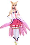 League of Legends Ahri Cosplay Costume Dress