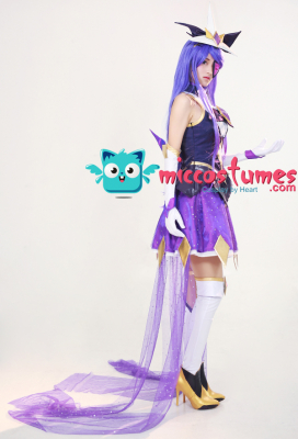 League of Legends Syndra Cosplay Costume Dress