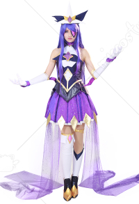 League of Legends Star Guardian Syndra Cosplay Costume Dress